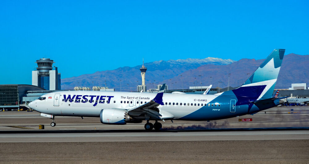 WestJet Boeing 737 MAX 8 Las Vegas 8