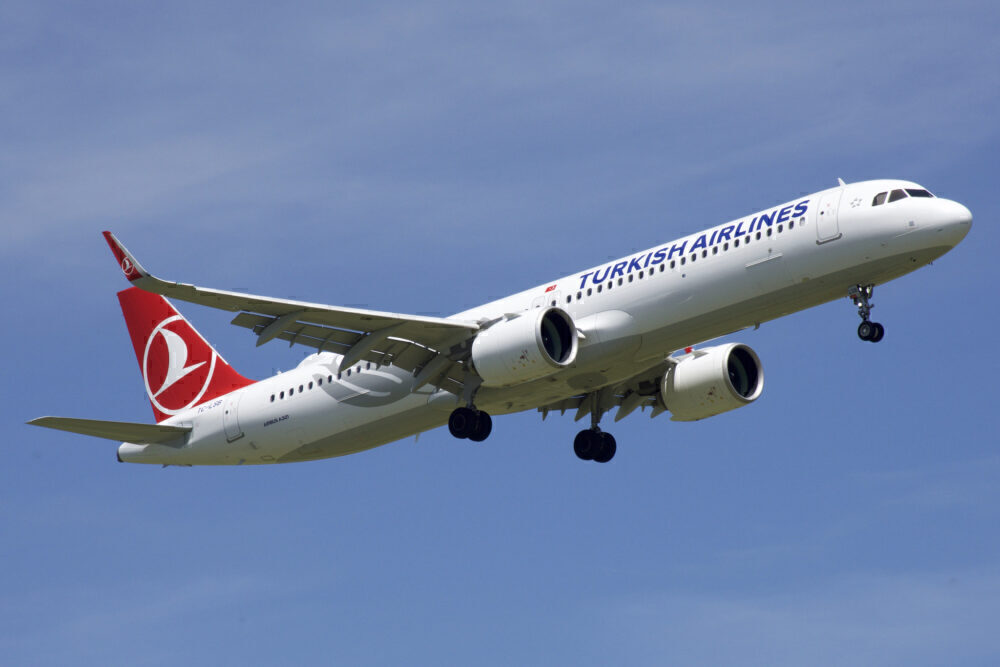 Turkish Airlines A321neo hard landing