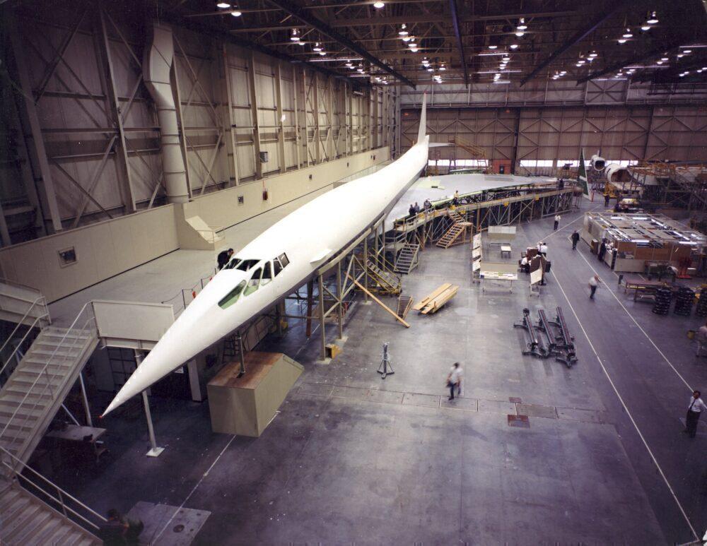 Boeing 2707 Mockup