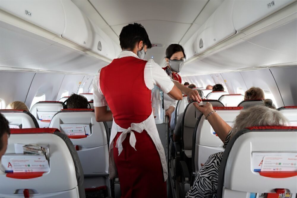 Austrian Airlines Flight Attendants