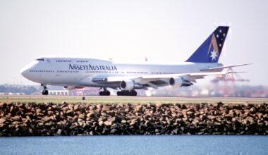 Ansett Australia Boeing 747