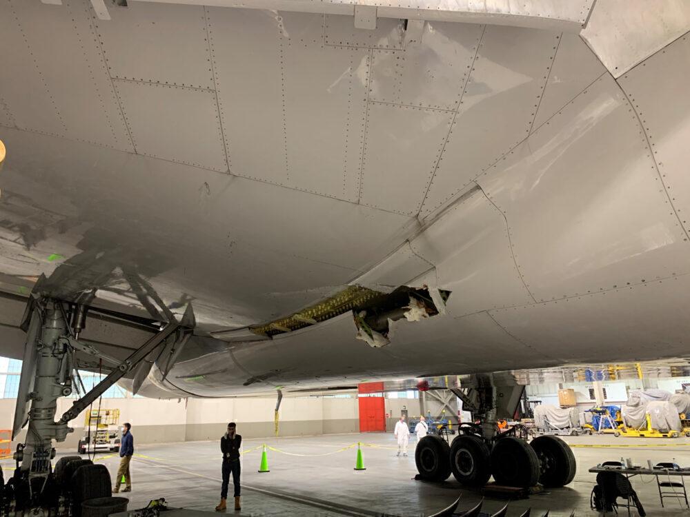 Fuselage damage