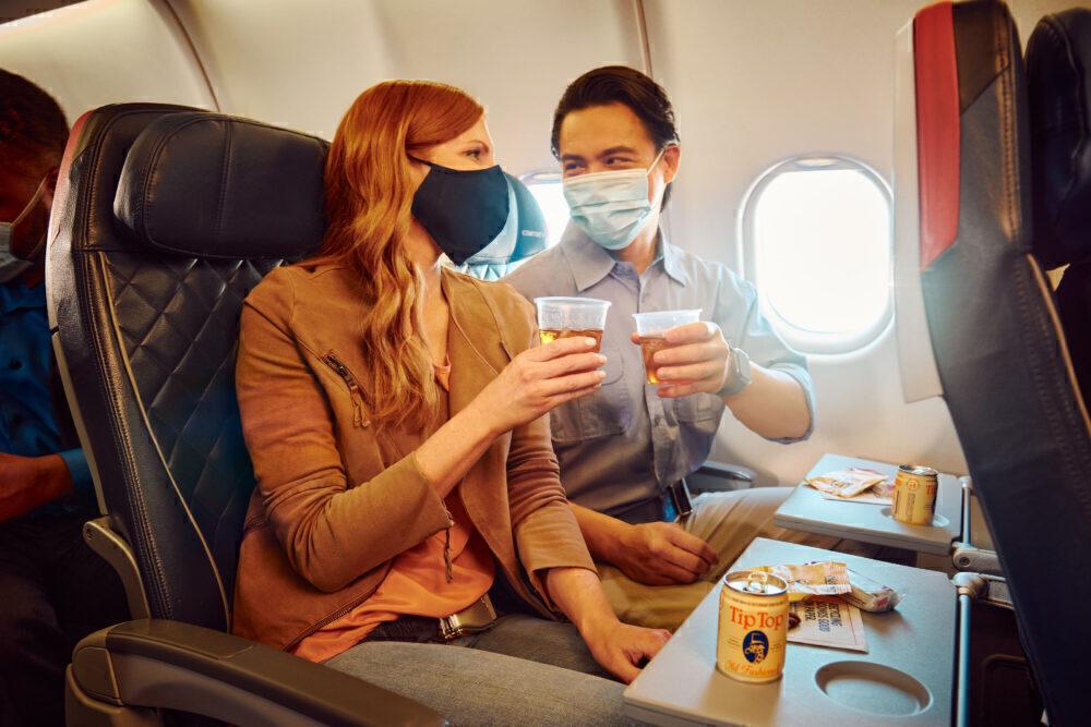 Delta Onboard Drinks
