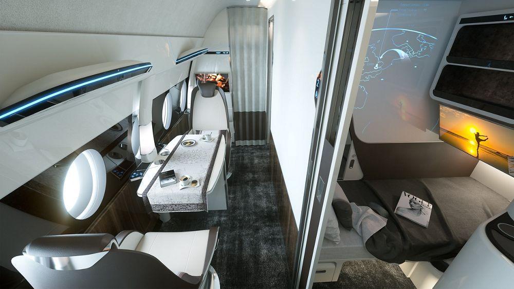 Airbus day night suite