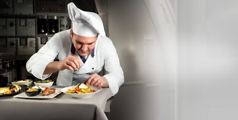 Turkish Airlines Onboard Chef
