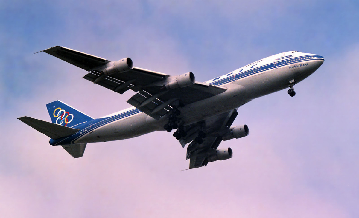 Boeing 747, Olympic Airways, Upcycling