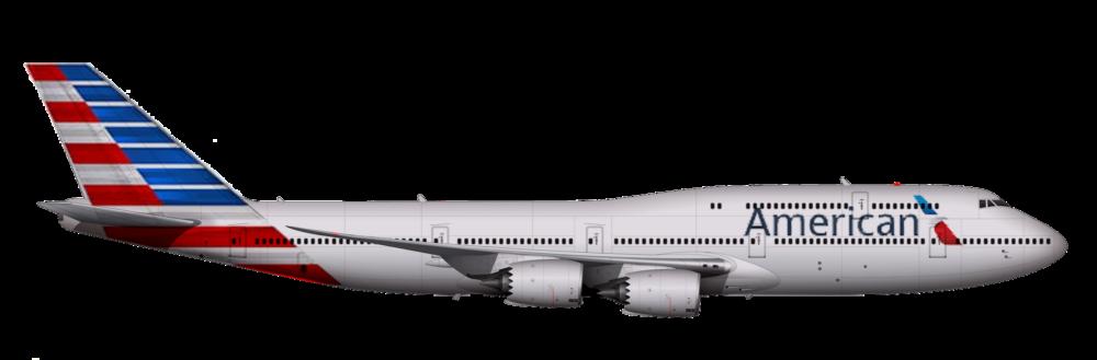 American Airlines Boeing 747-8