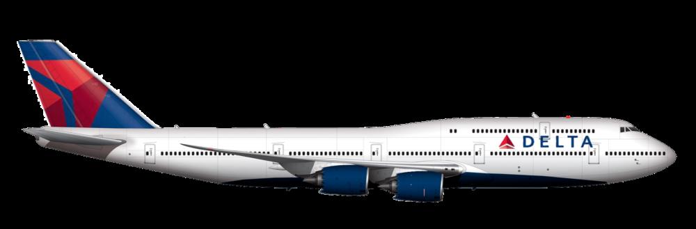 Delta Air Lines Boeing 747-8