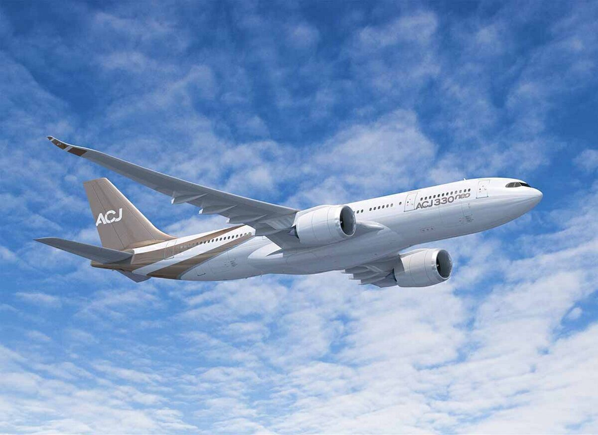 Stunning: Inside An Airbus A330neo Private Jet Concept