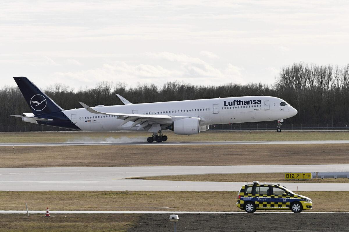 Lufthansa, Airbus A350, Repainted