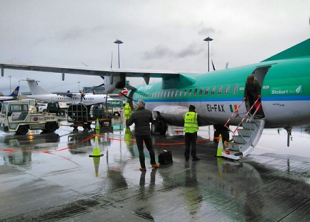 Aer Lingus Regional ATR72 Dublin
