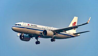 Air China A320neo