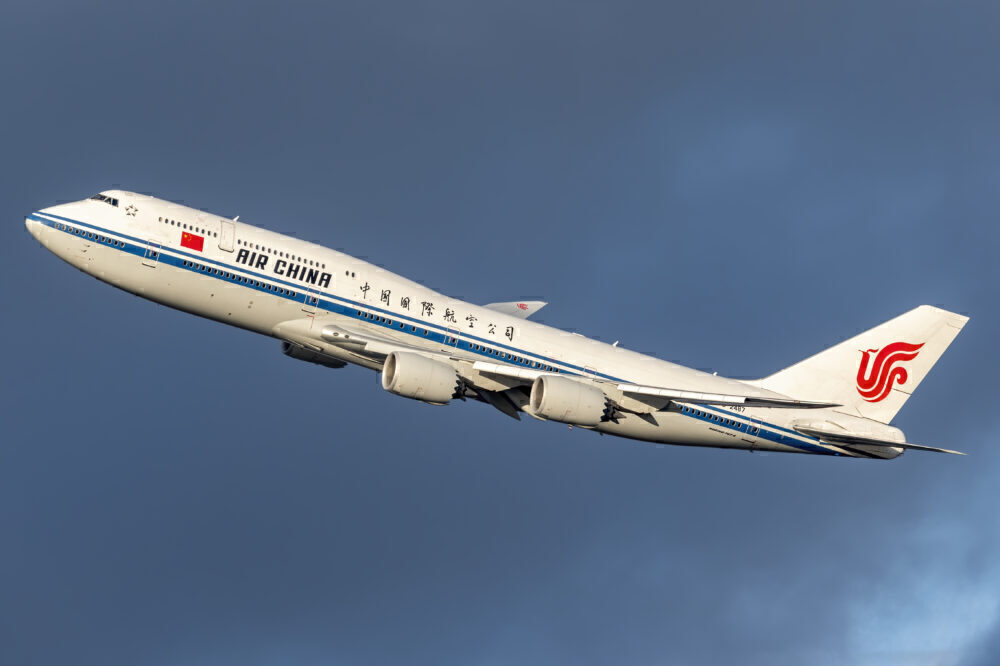 Air China B747-8