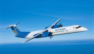 Air Tanzania DHC Dash 8-400