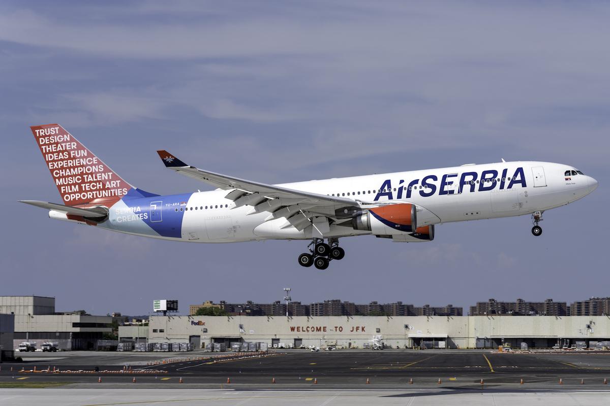 AirSERBIA (Serbia Creates Livery) Airbus A330-202 YU-ARA