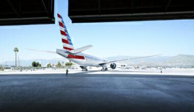 American Airlines Boeing Hangar