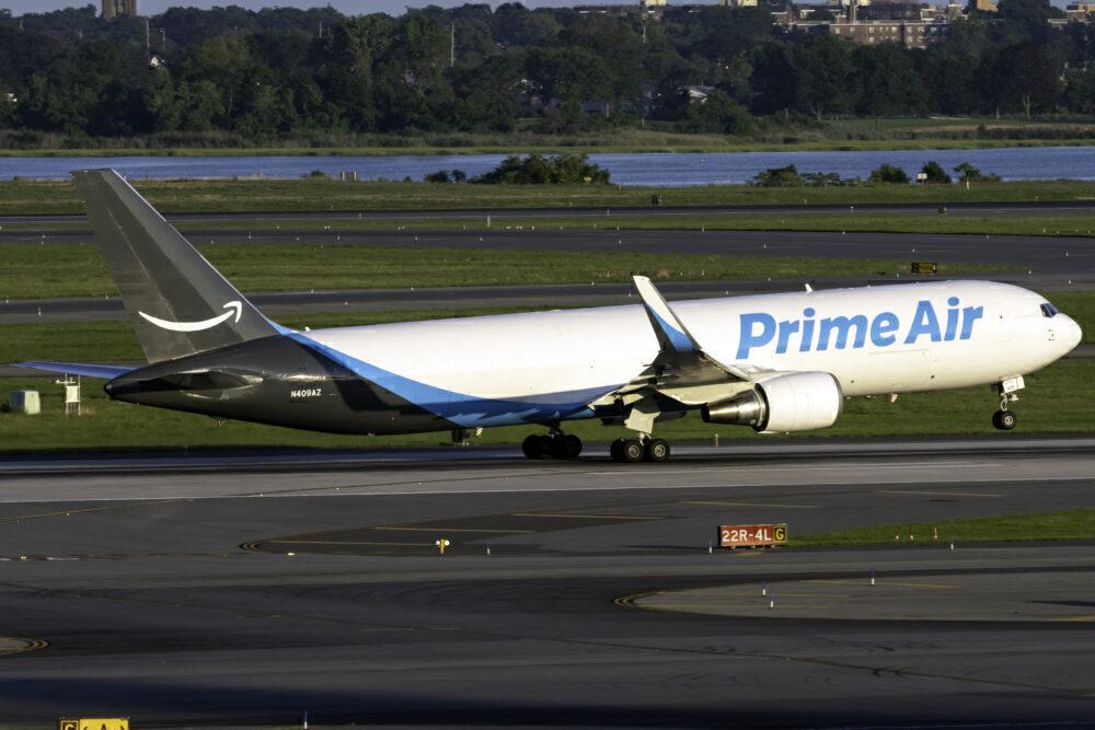 Amazon Air Boeing 767-3P6(ER)(BDSF) N409AZ