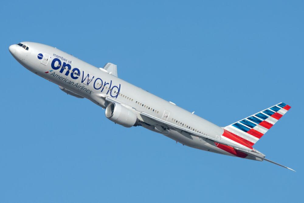 AA Boeing 777-200ER