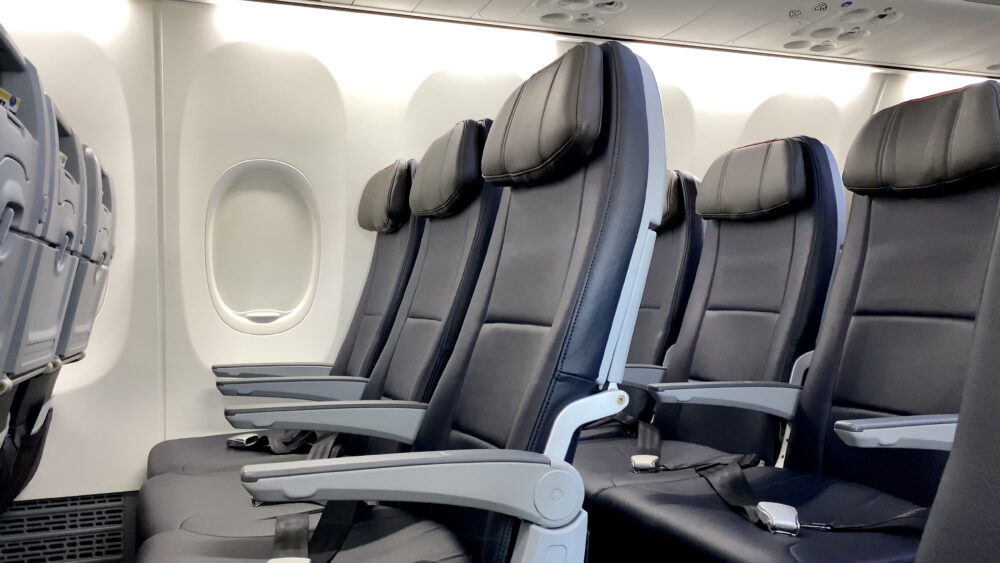 American Airlines Boeing 737 MAX Cabin