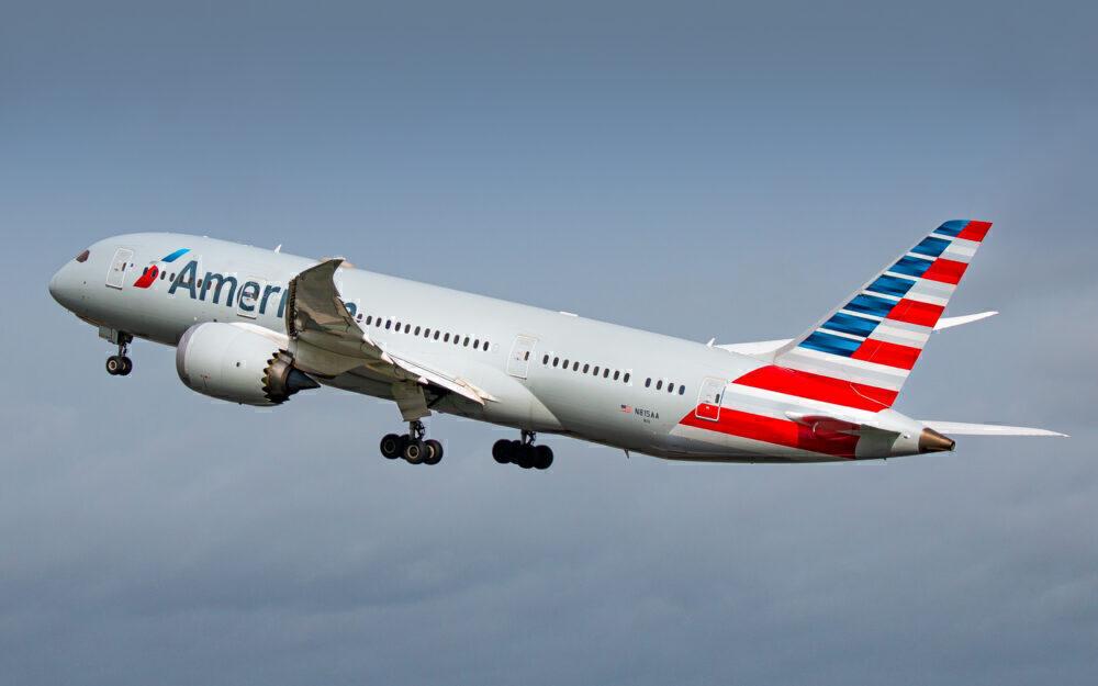 American Airlines Boeing 787 Dublin