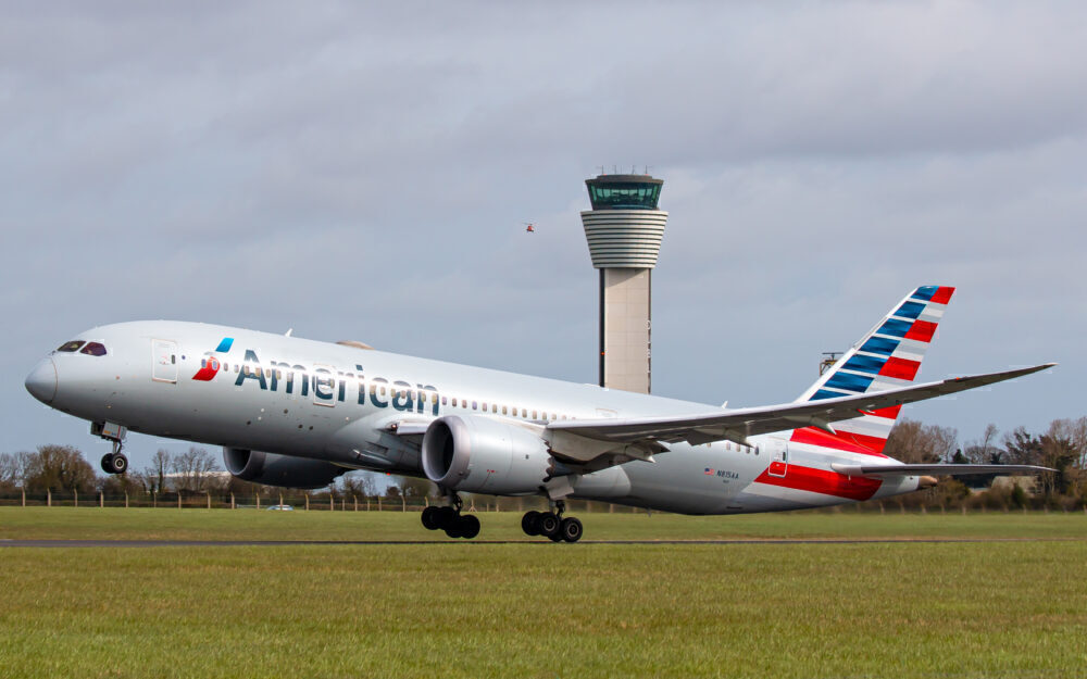 American Airlines 787 Dublin