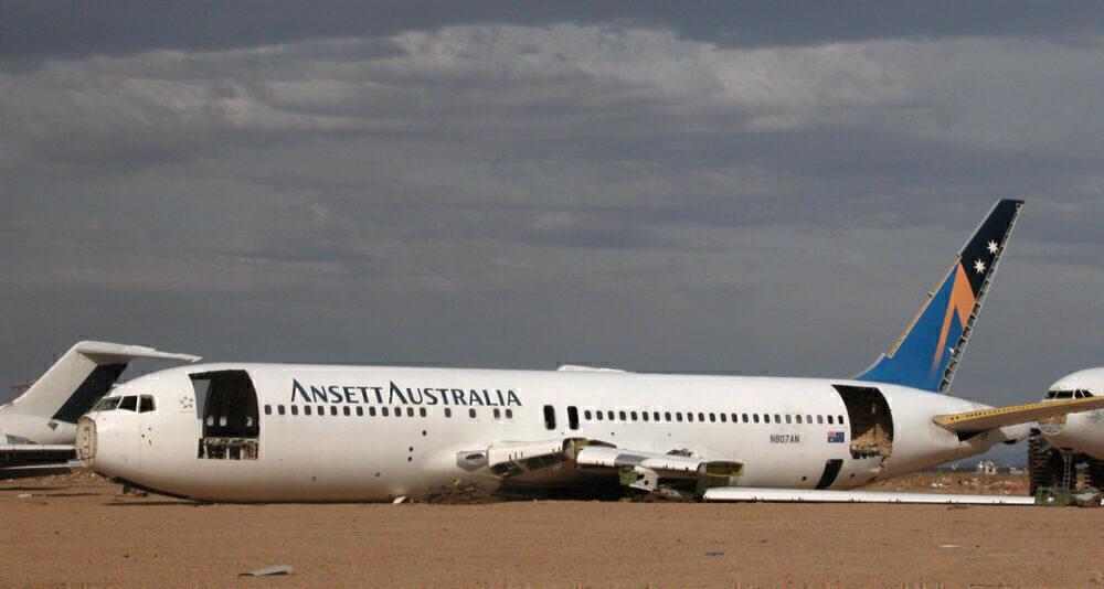 Ansett Boeing 767