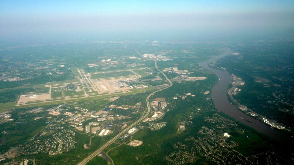 Aerial view CVG