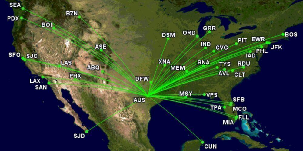 Austin routes