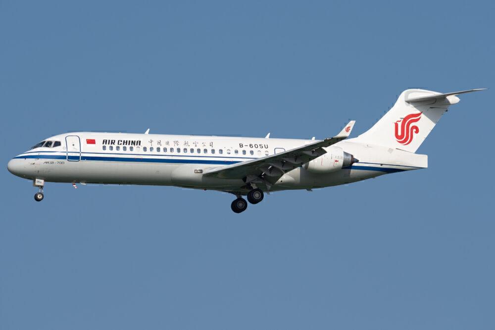 Air China Receives Fourth COMAC ARJ21