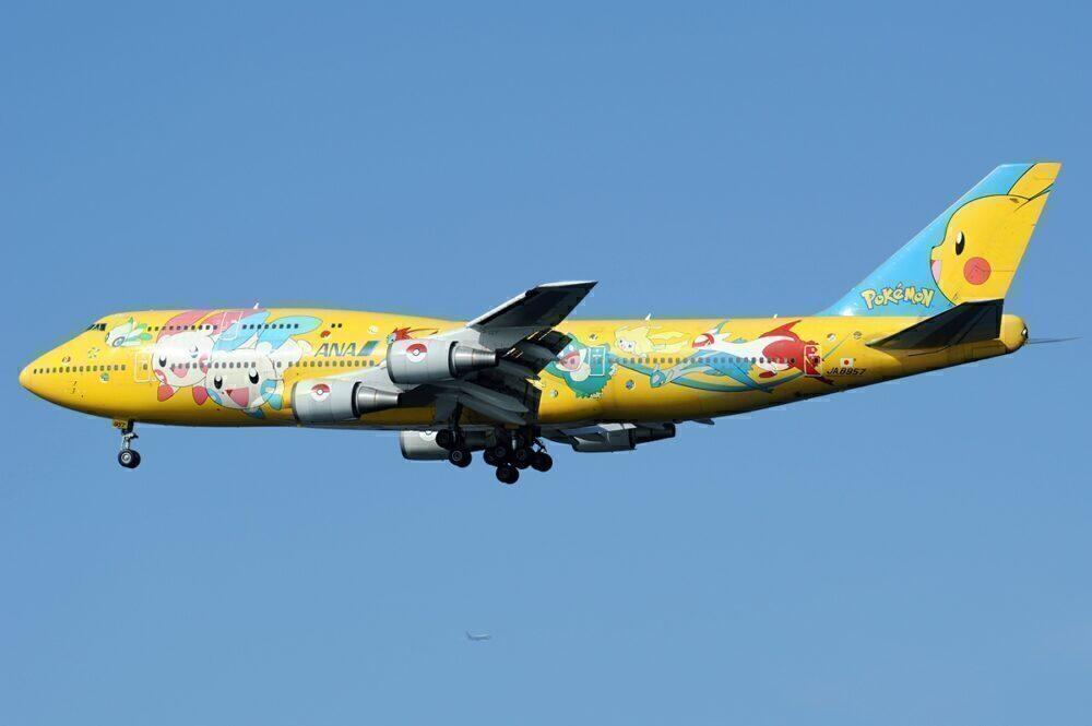 ANA Boeing 747-400D Pokemon