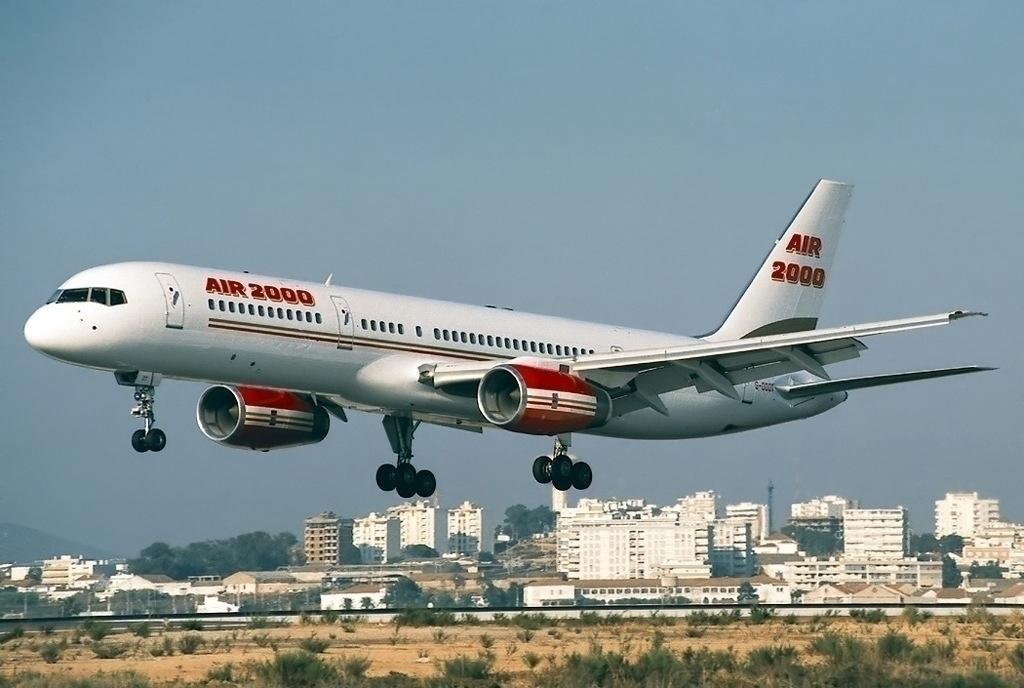 Air 2000 Boeing 757