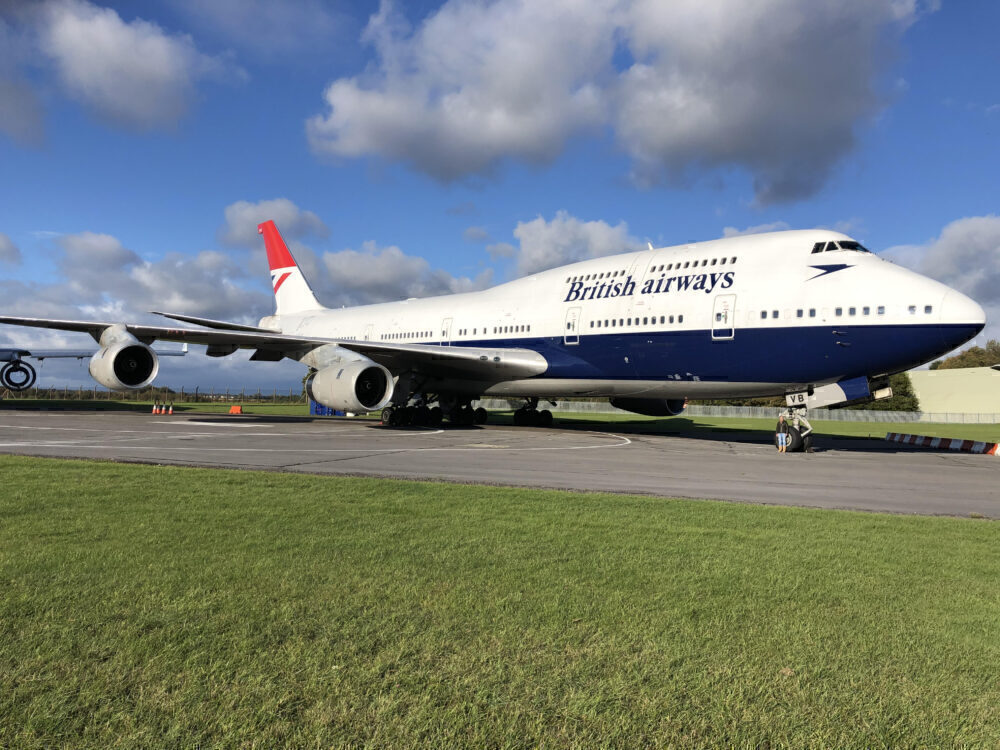 British Airways Boeing 747 Cotsworld