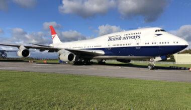 British Airways Boeing 747 Cotsworld