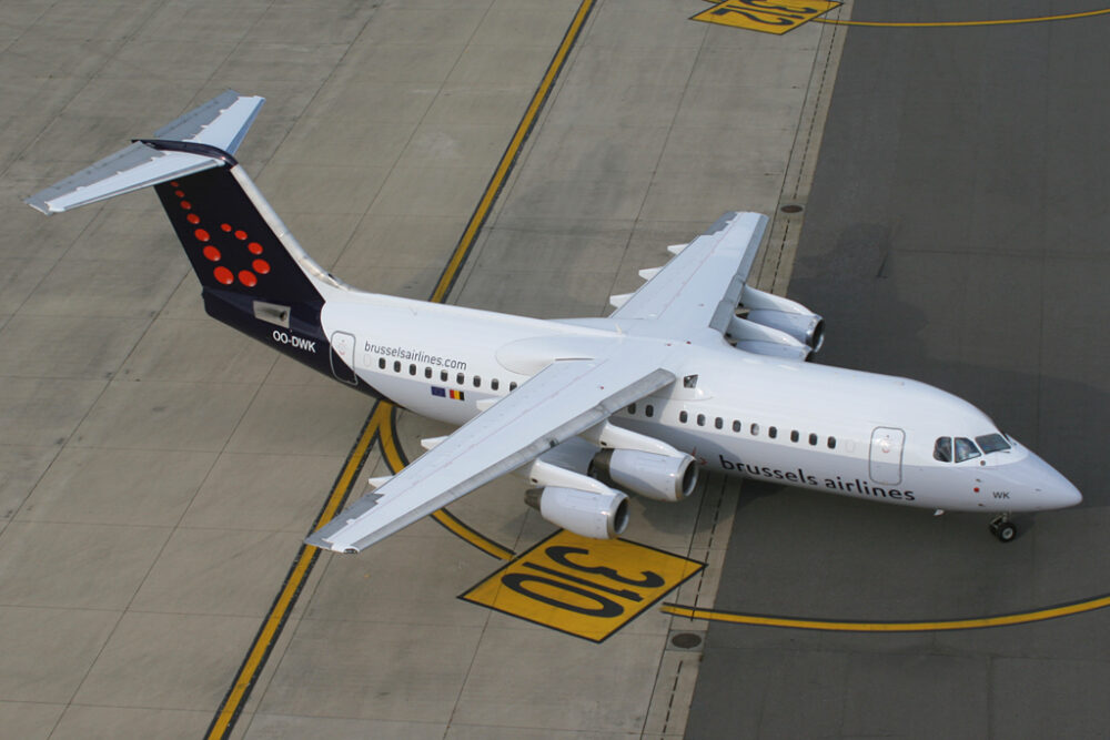 Brussels Airlines avro Rj