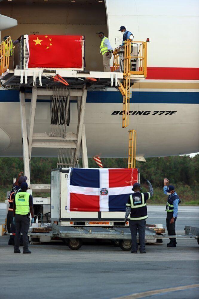 Vacunas de China Cargo Airlines República Dominicana