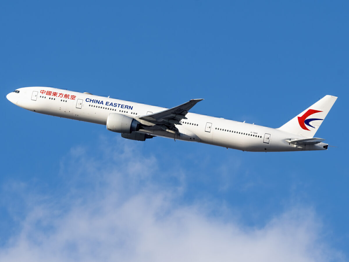 China Eastern Airlines Boeing 777-39P(ER) B-7868