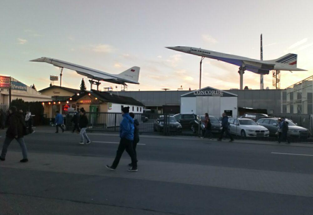 Concorde and Tu-144