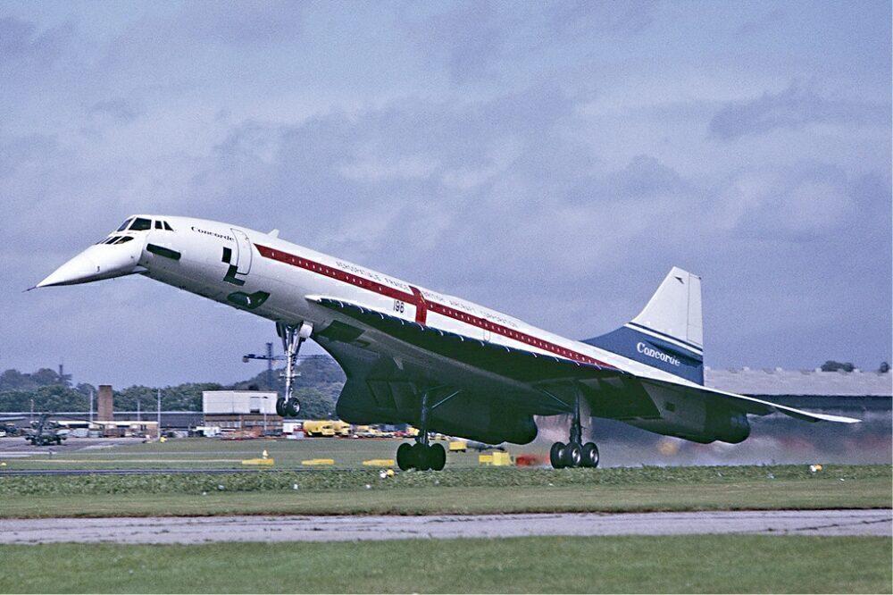 Concorde Landing Farnborough