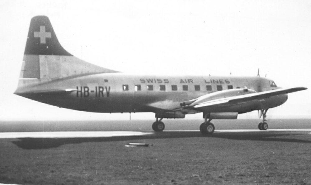 Swissair Convair CV-240