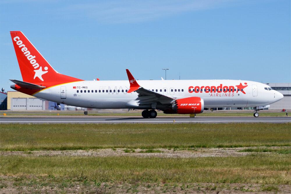 Corendon 737 MAX