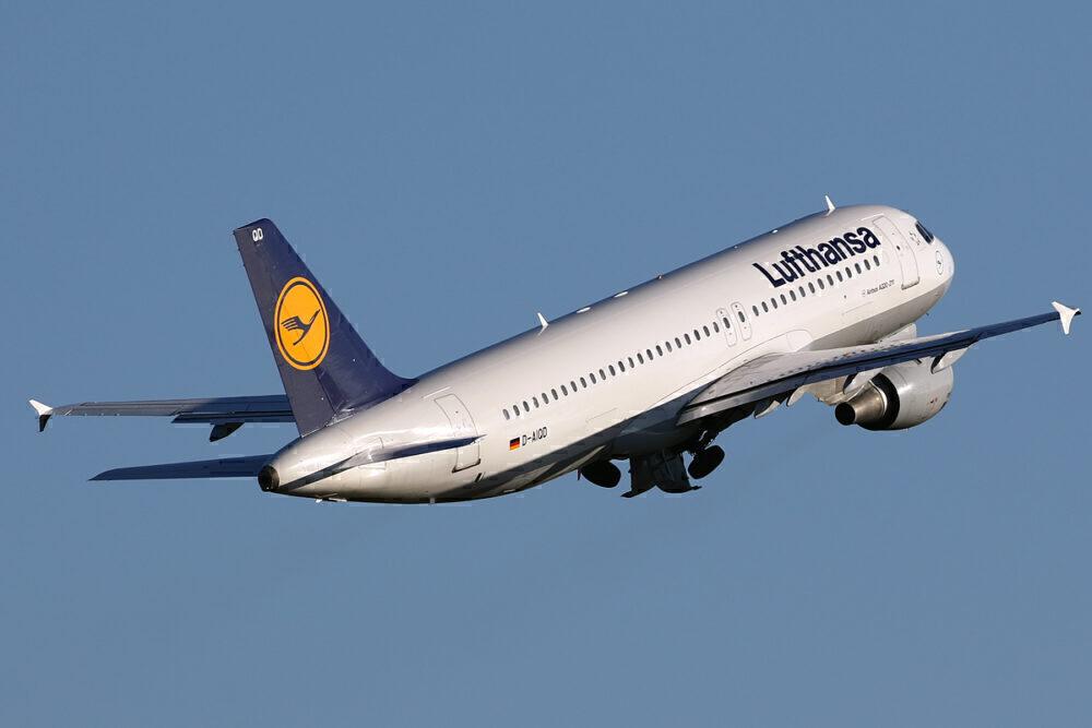 Lufthansa oldest A320