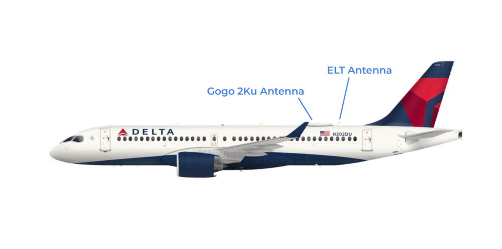 Delta A220 Antenna