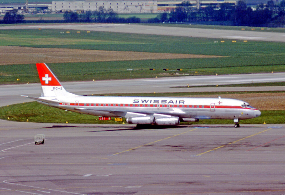Swissair Douglas DC-8