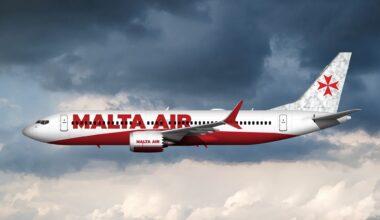 Malta Air Boeing 737 MAX Rendering