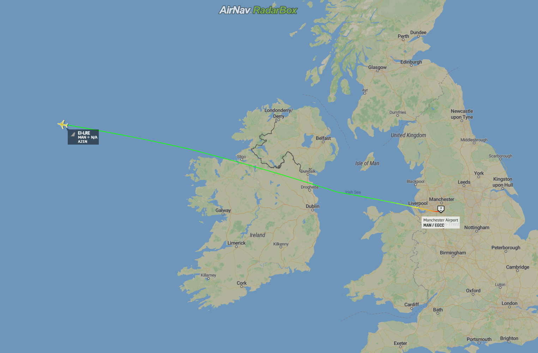 Aer Lingus, Manchester, AOC