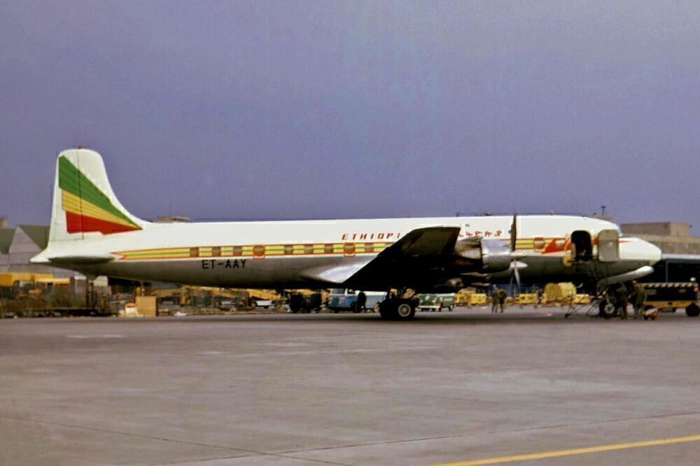 Ethiopian Airlines DC6.