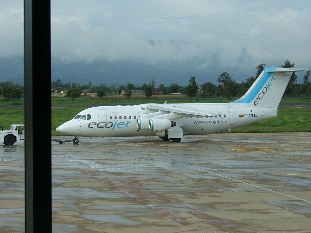 ecojet Avro RJ-85