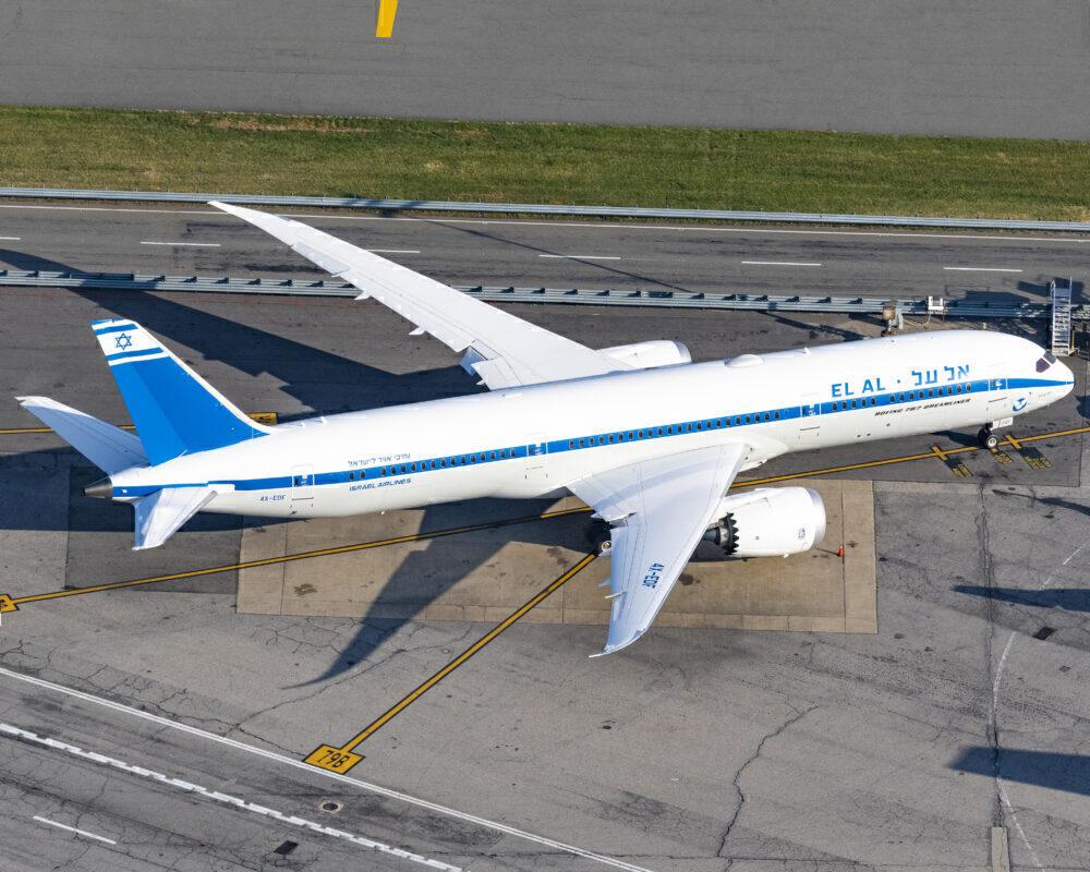 El Al Boeing 787 Escorted Over Europe By Fighter Jets