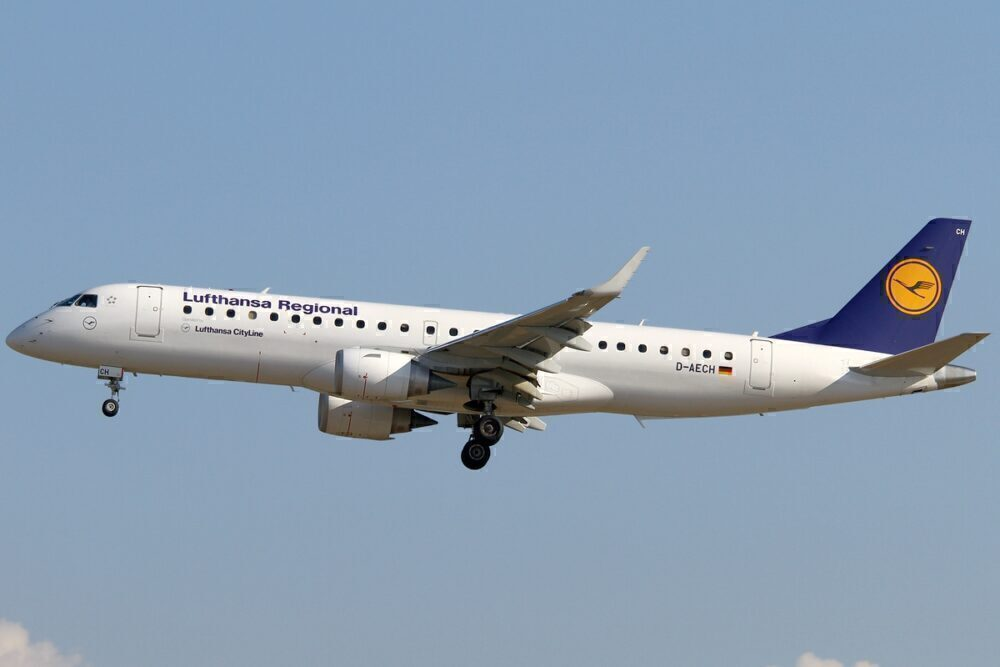 Lufthansa CityLine Embraer 190