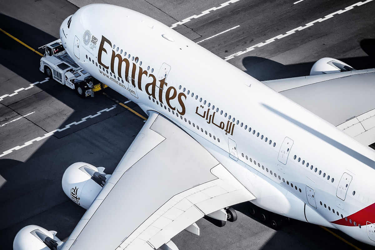 Emirates, Airbus A380, Germany